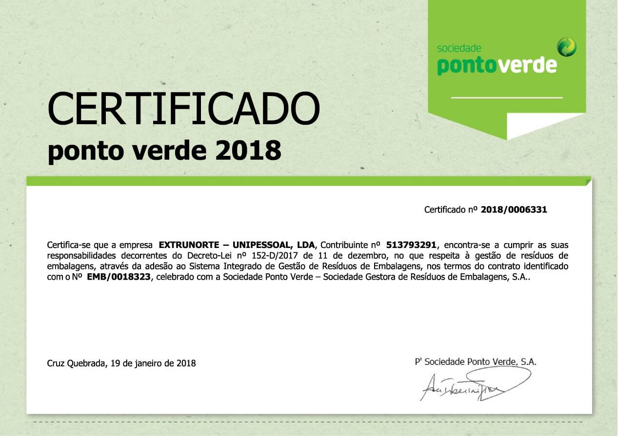 certificado ponto verde 2018-01