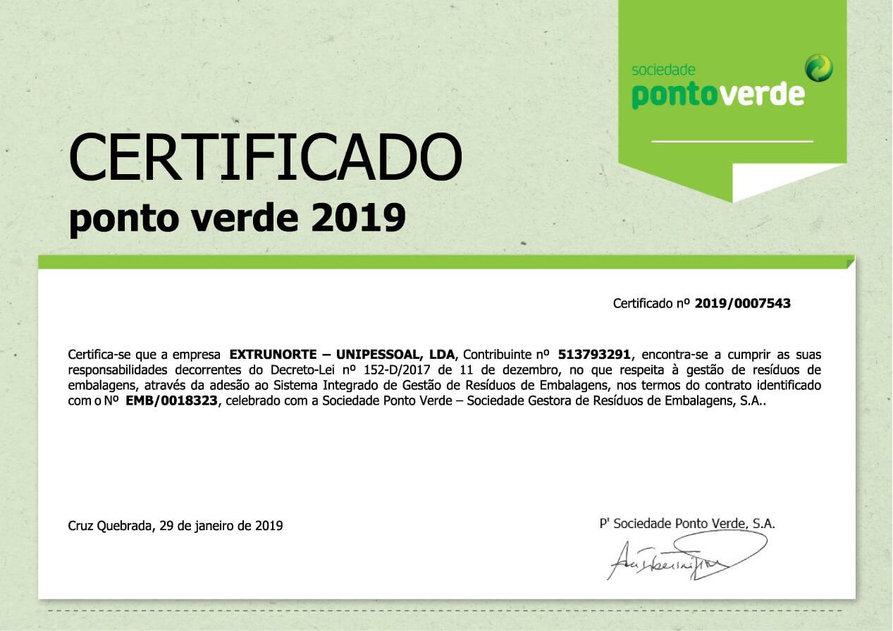 certificado ponto verde 2019-01
